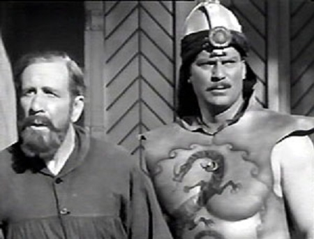 Richard Alexander and Frank Shannon in Flash Gordon's Trip to Mars (1938)