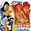 Marlene Dietrich, James Stewart, and Una Merkel in Destry Rides Again (1939)