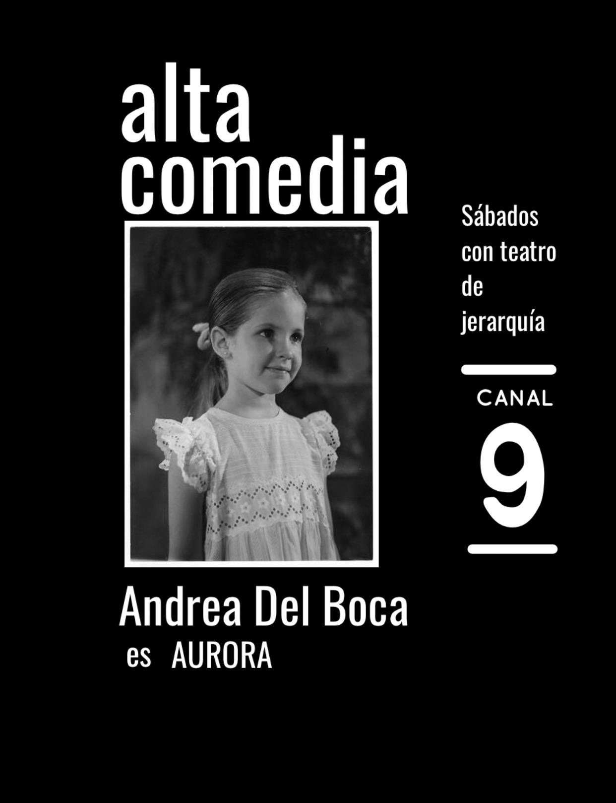 Andrea Del Boca in Alta comedia (1965)
