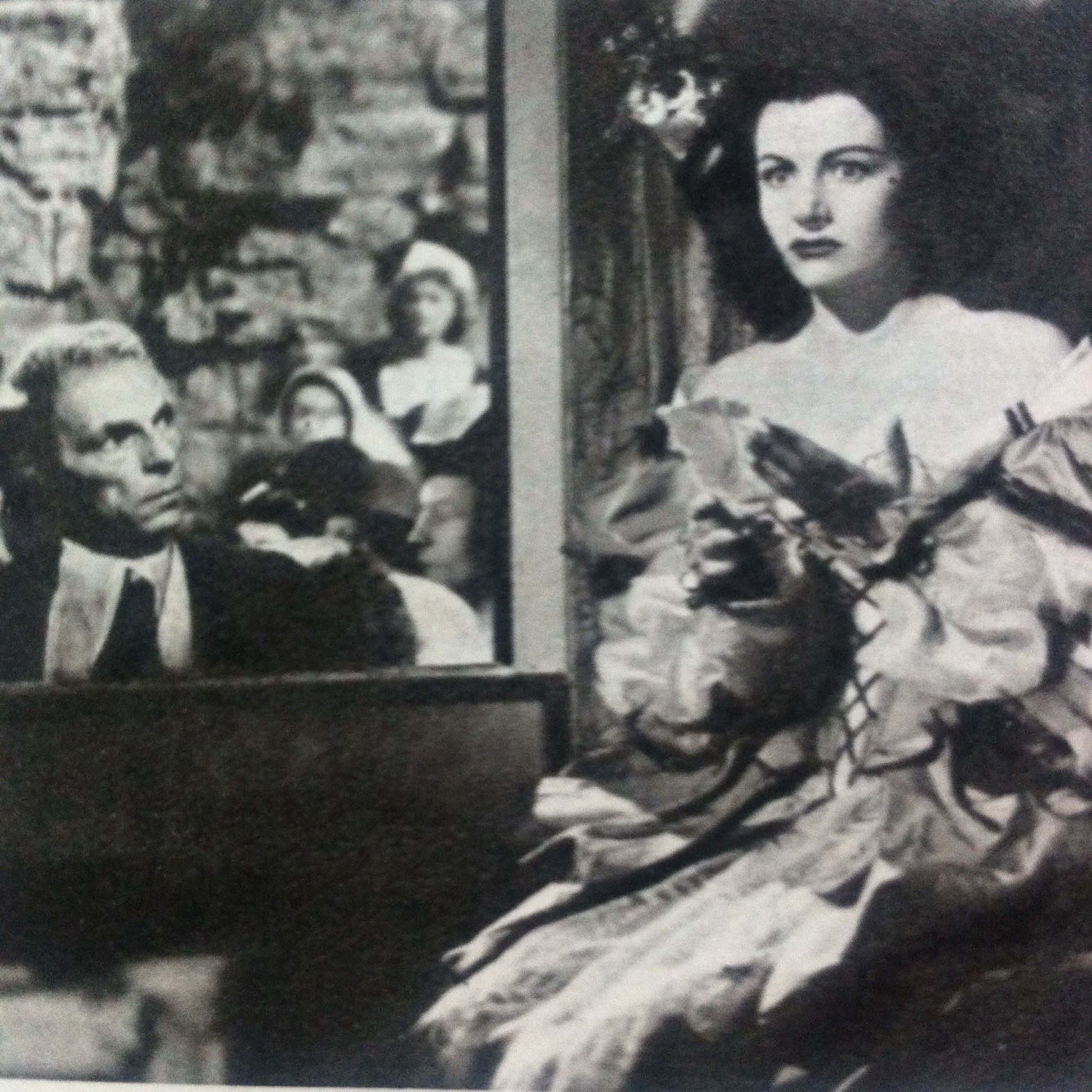 Ivor Barnard and Margaret Lockwood in The Wicked Lady (1945)