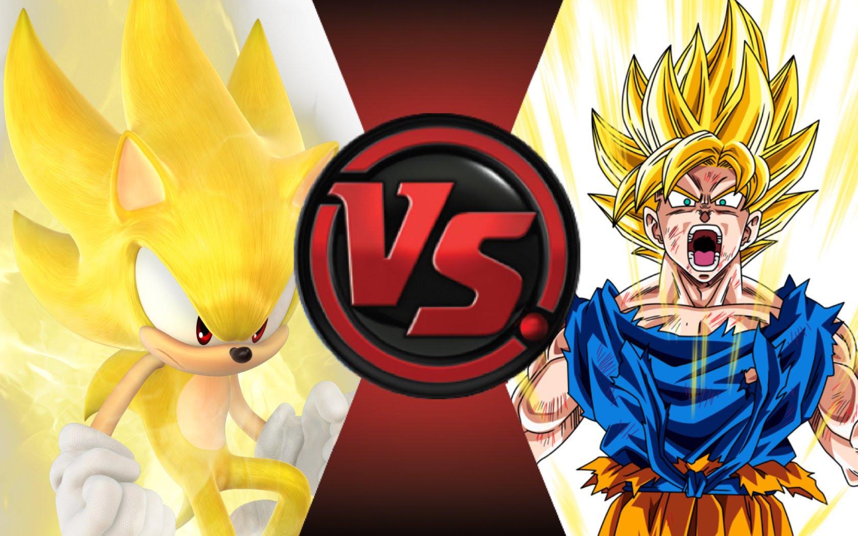 Cartoon Fight Club Sonic Vs Goku Tv Episode 2015 Imdb