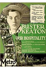 Buster Keaton, Buster Keaton Jr., Joe Keaton, and Natalie Talmadge in Our Hospitality (1923)