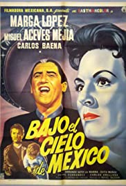 Beneath the Sky of Mexico Poster