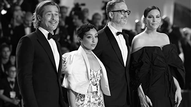 Brad Pitt, Liv Tyler, James Gray, and Ruth Negga