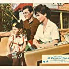 Tony Curtis, Suzanne Pleshette, and Claire Wilcox in 40 Pounds of Trouble (1962)