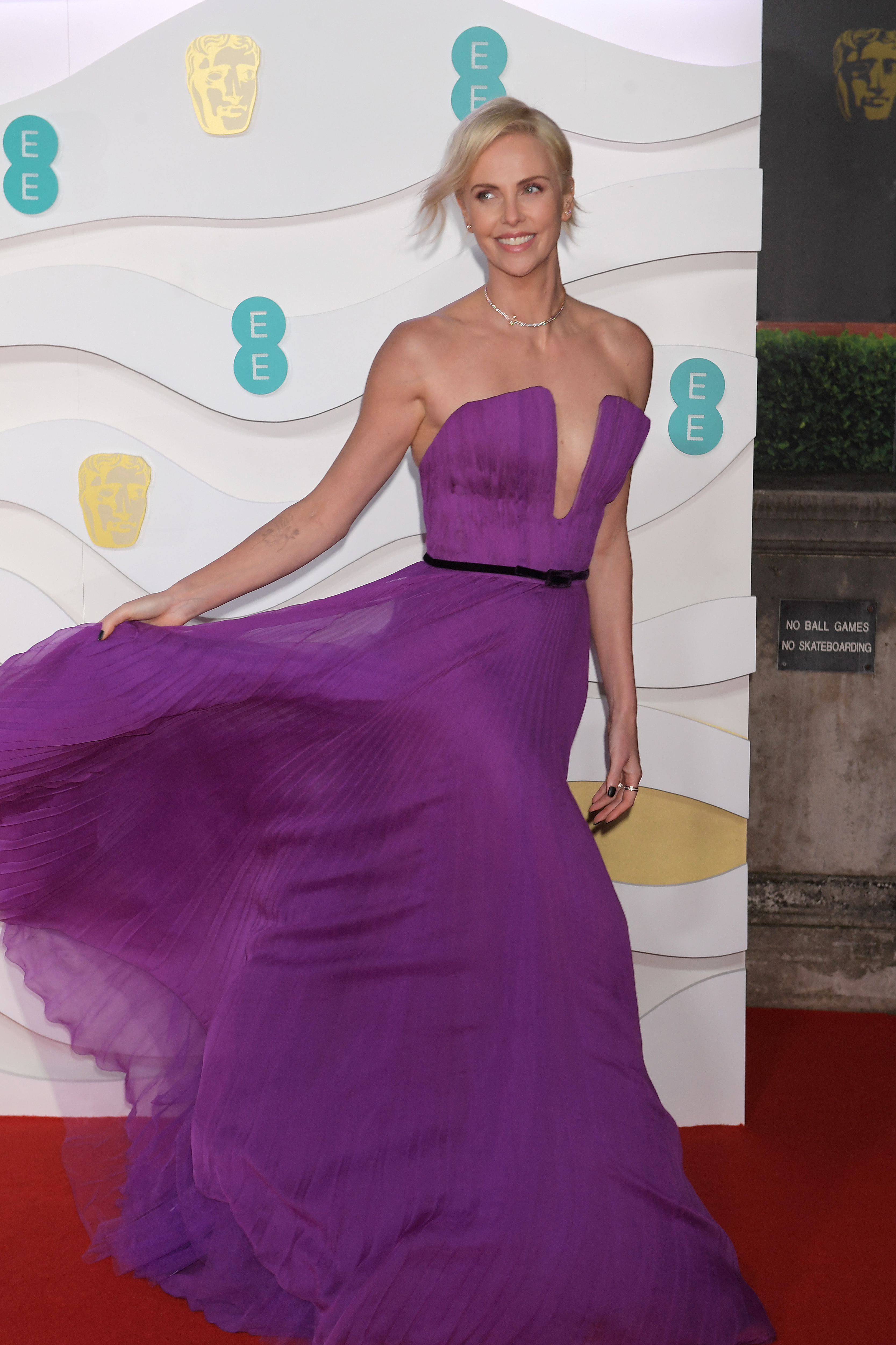 Charlize Theron at an event for EE British Academy Film Awards (2020)