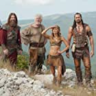 Barry Bostwick, Victor Webster, Rodger Halston, and Ellen Hollman in The Scorpion King: The Lost Throne (2015)
