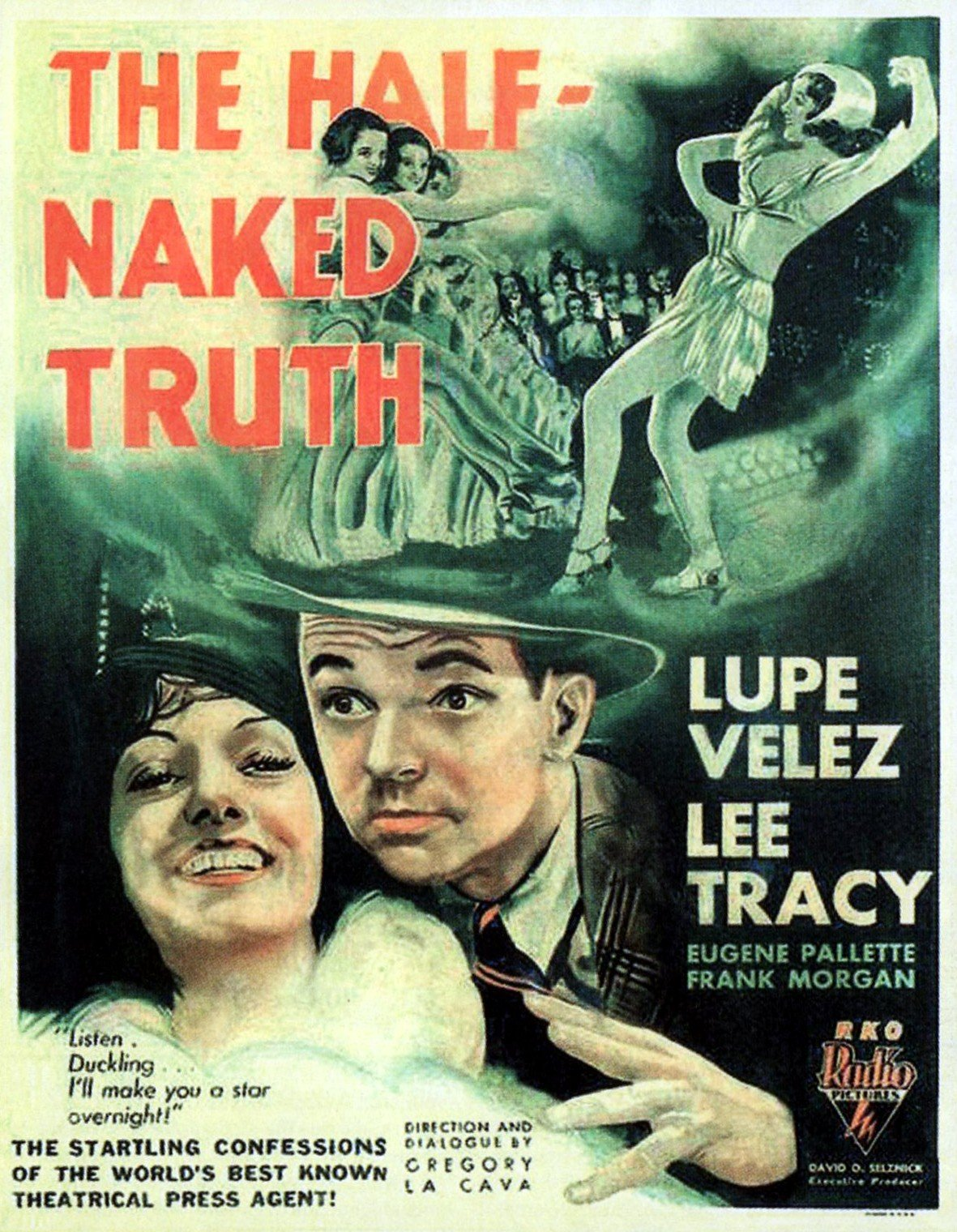 Lee Tracy and Lupe Velez in The Half-Naked Truth (1932)
