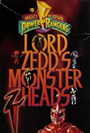 Lord Zedd's Monster Heads: The Greatest Villains of the Mighty Morphin Power Rangers Poster