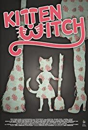 Kitten Witch Poster
