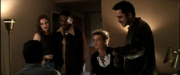 Giovanni Ribisi, Balthazar Getty, Heather Stephens, Scott Coffey, and Al G. Garrett in Lost Highway (1997)