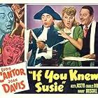 Eddie Cantor, Joan Davis, and Allyn Joslyn in If You Knew Susie (1948)