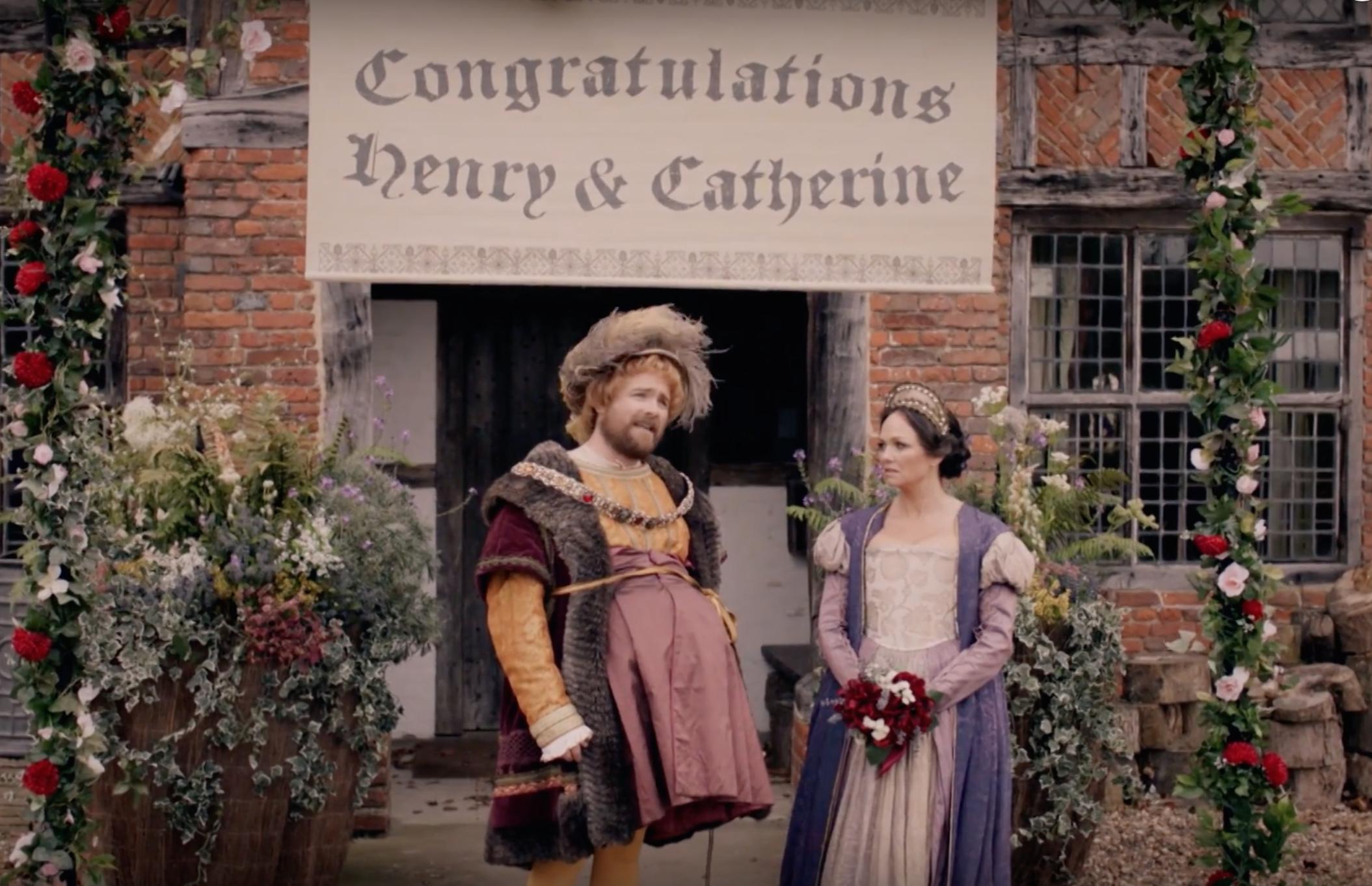Emma Bunton and Neil Maskell in Drunk History: UK (2015)