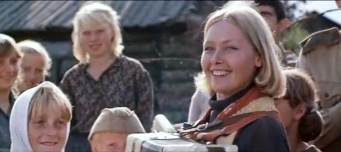 Svetlana Ryabova in Osoboye podrazdeleniye (1984)