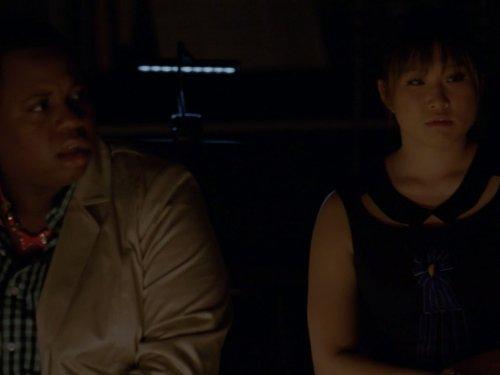 Jenna Ushkowitz and Alex Newell in Glee (2009)
