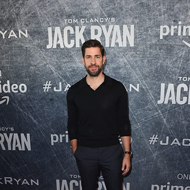 John Krasinski at an event for Jack Ryan (2018)