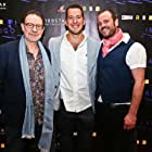 Composer (me) with director Martin Simpson (left) and producer Brian Cobb (right) of Cobbstar Productions at the red carpet opening of Indigo Lake (2017).