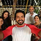 Jyotika, Seetha, Sathyaraj, Karthi, and Nikhila Vimal in Thambi (2019)