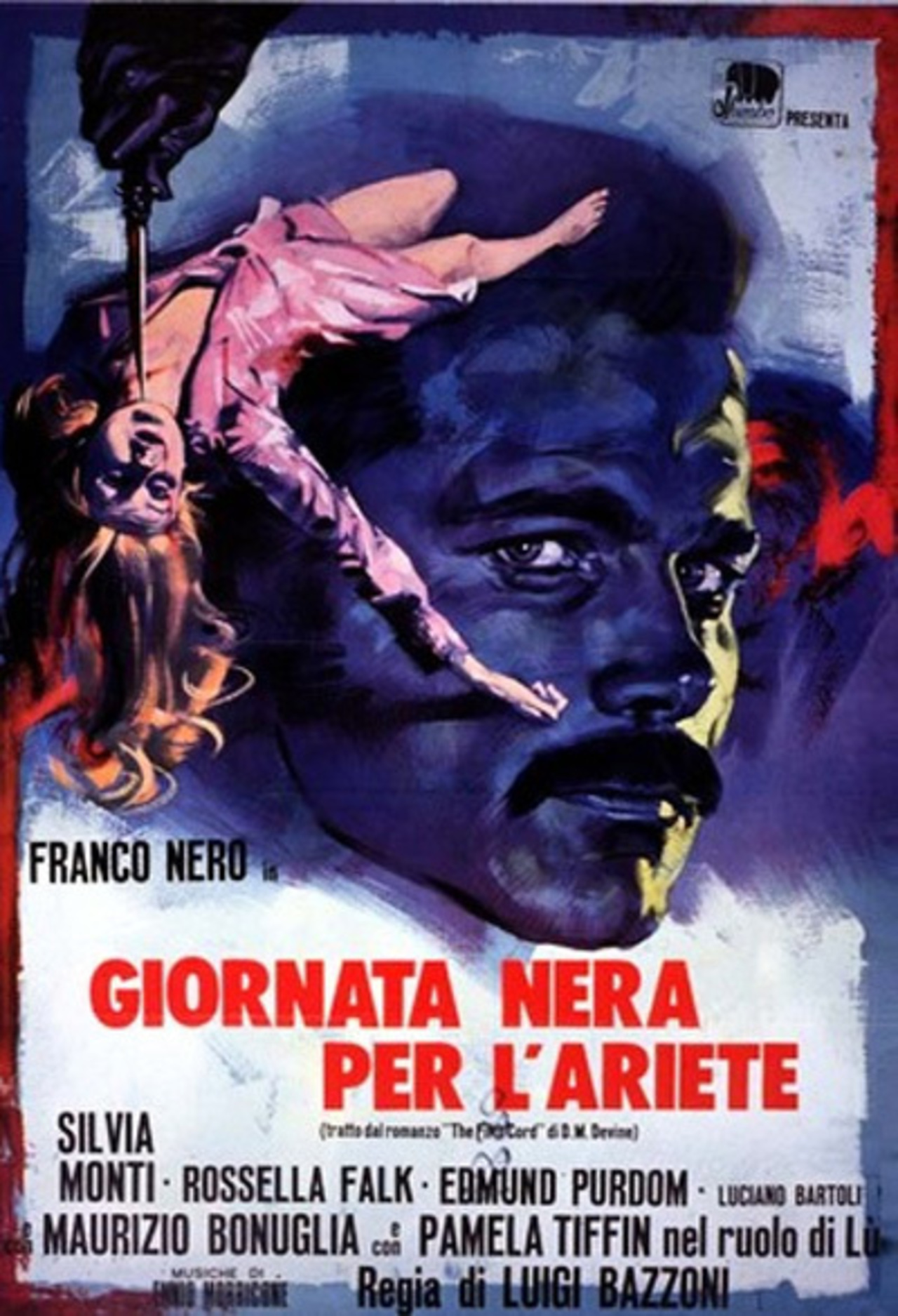 Image result for Giornata Nera per l'Ariete (The Fifth Cord)