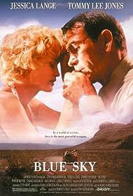 Tommy Lee Jones and Jessica Lange in Blue Sky (1994)