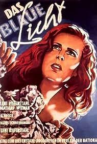 Das blaue Licht - Eine Berglegende aus den Dolomiten (1934) Poster - Movie Forum, Cast, Reviews