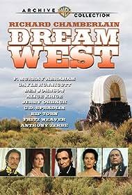 Richard Chamberlain, Alice Krige, and F. Murray Abraham in Dream West (1986)