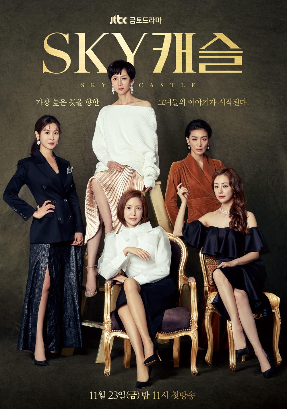 A satirical drama that closely looks at the materialistic desires of the upper-class parents in South Korea and how they ruthlessly secure the successes of their families at the cost of destroying others' lives.