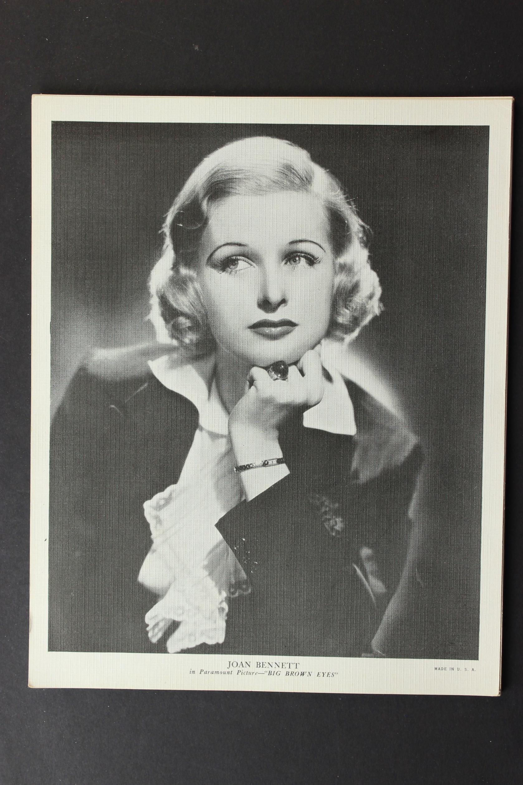 Joan Bennett in Big Brown Eyes (1936)
