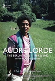 Audre Lorde: The Berlin Years 1984-1992 Poster