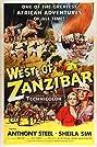 West of Zanzibar (1954) Poster