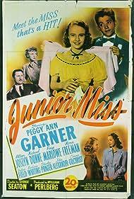 Scotty Beckett, Mona Freeman, Peggy Ann Garner, Allyn Joslyn, and Faye Marlowe in Junior Miss (1945)