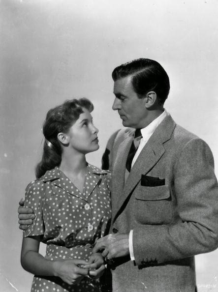 Janet Leigh and Walter Pidgeon in If Winter Comes (1947)