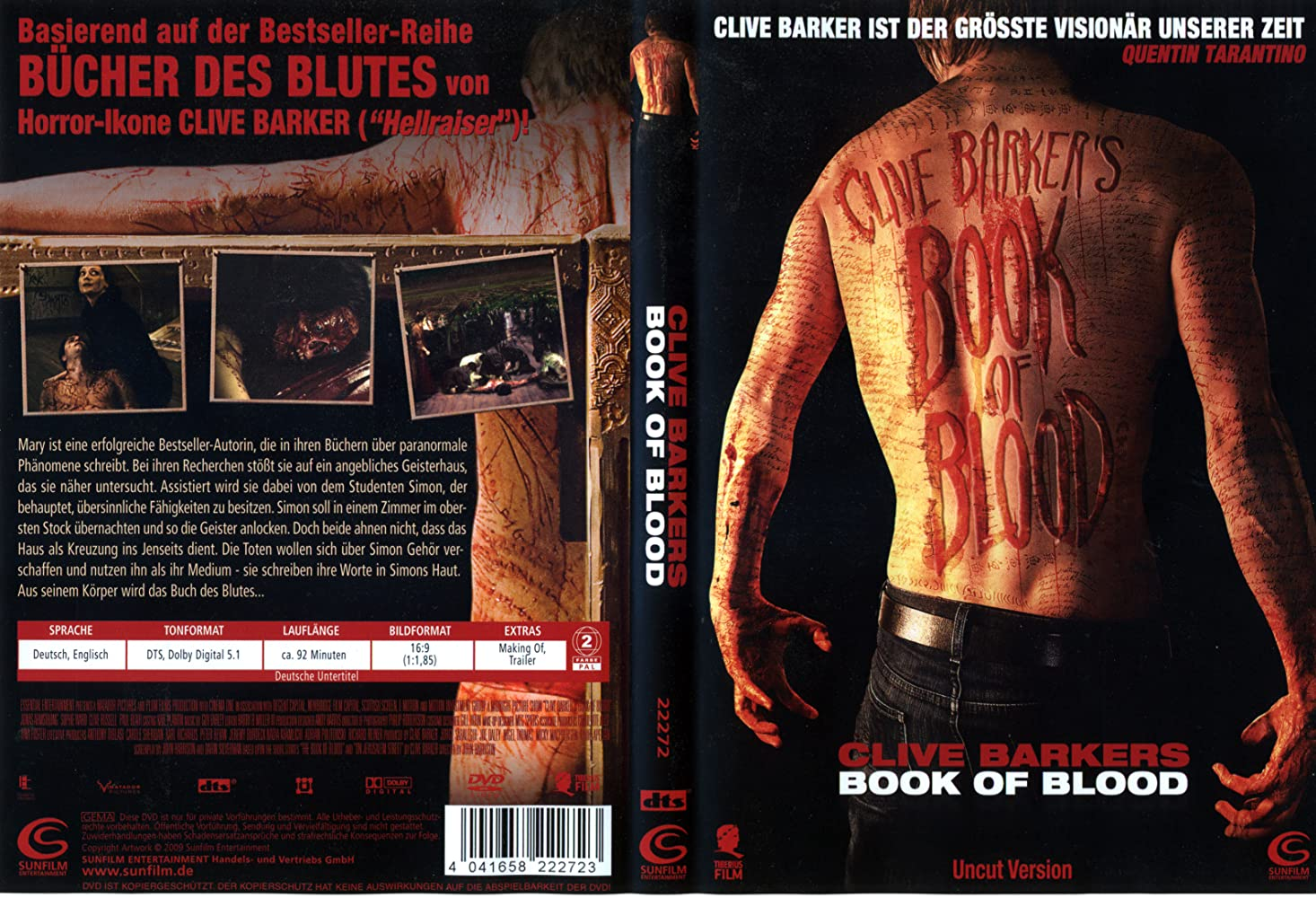 Book Of Blood 2009