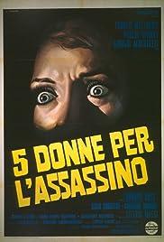 5 donne per l'assassino(1974) Poster - Movie Forum, Cast, Reviews