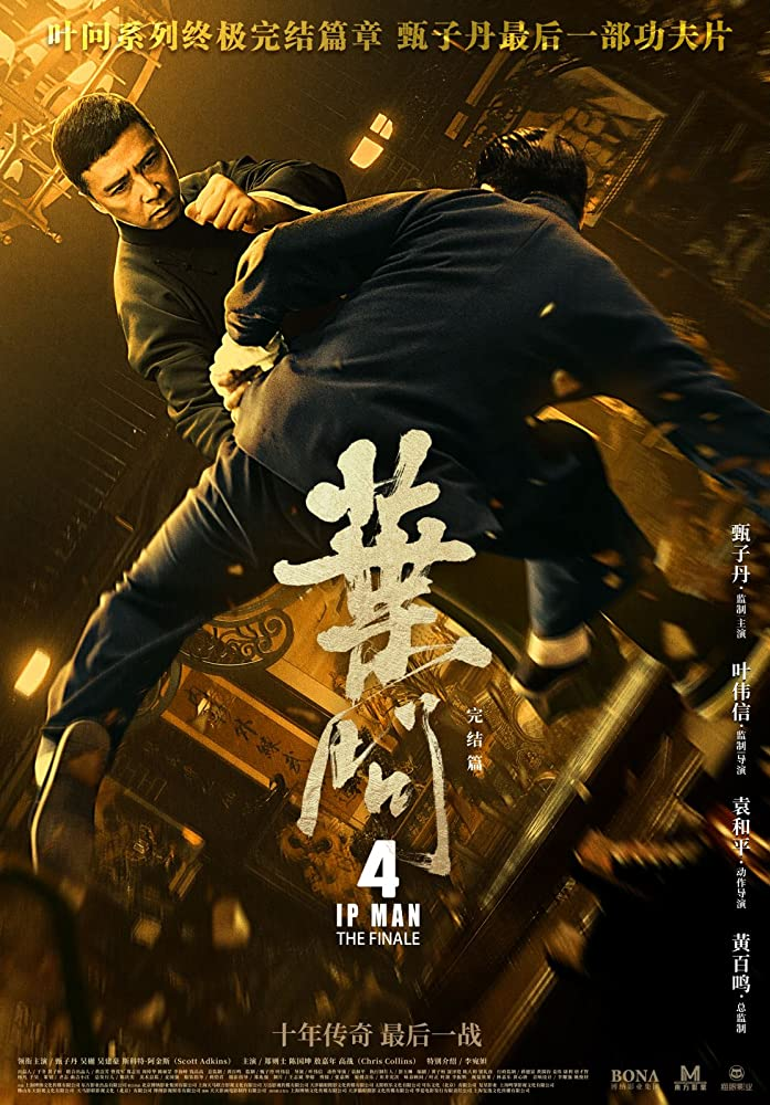 Ip Man 4: The Finale (2019) Dual Audio [ENG-CHN] 720p HC-HDRip x265 AAC 700MB