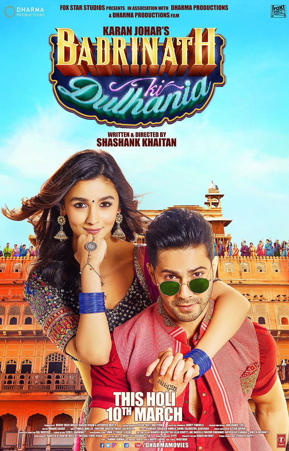Badrinath Ki Dulhania (2017) Hindi 720p Blu-Ray x265 AAC 1GB
