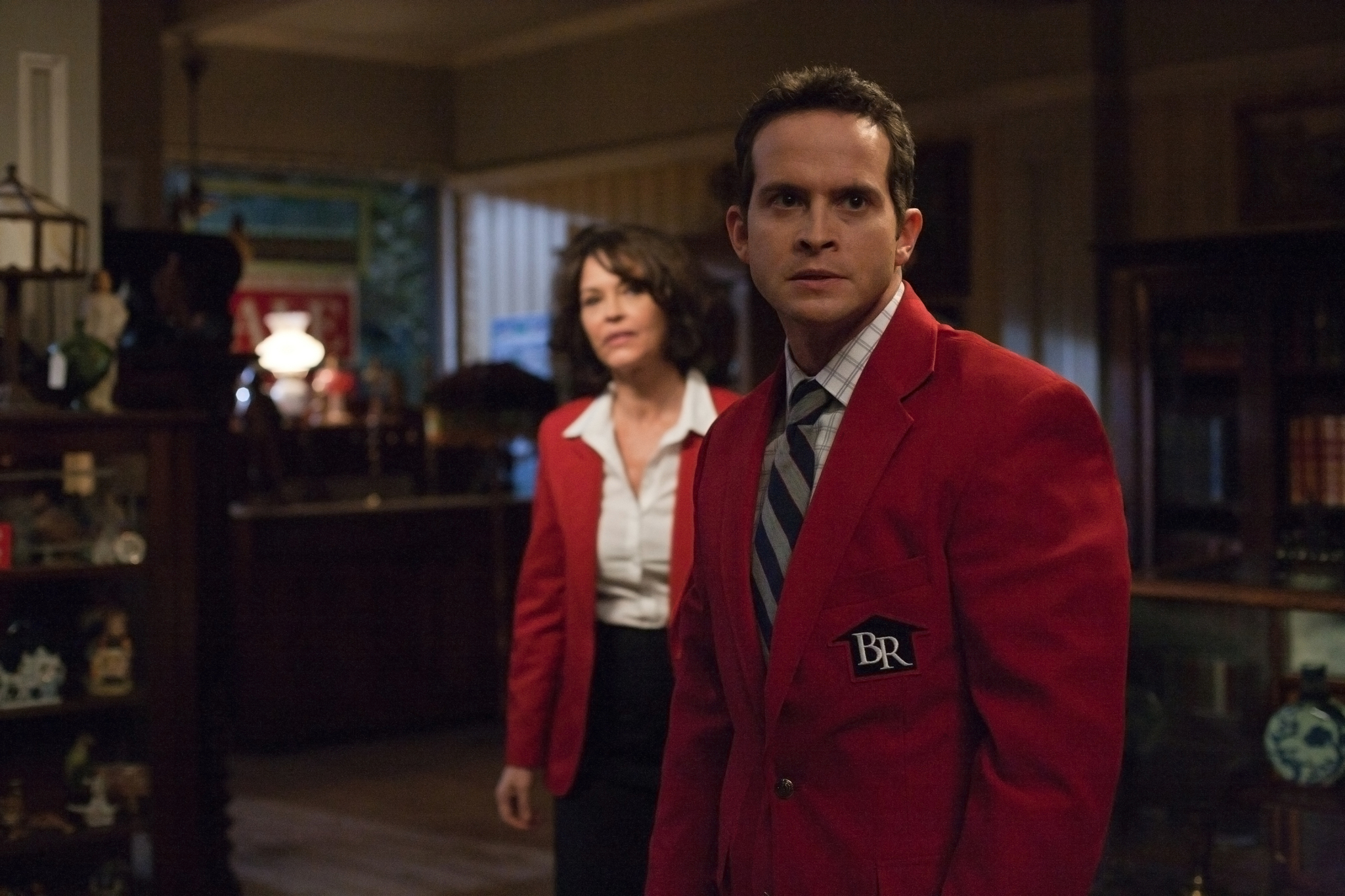 Mary Page Keller and Bryan Cuprill in Supernatural (2005)