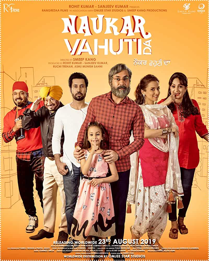 Naukar Vahuti Da 2019 Punjabi 720p HEVC HDRip x265 AAC ESubs Full Punjabi Movie [600MB]