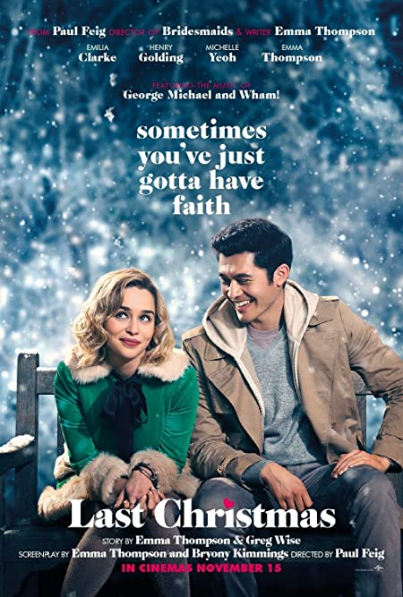 [PG-13] Last Christmas (2019) English  Blu-Ray - 480P | 720P - x264 - 300MB | 950MB - Download & Watch Online  Movie Poster - mlsbd
