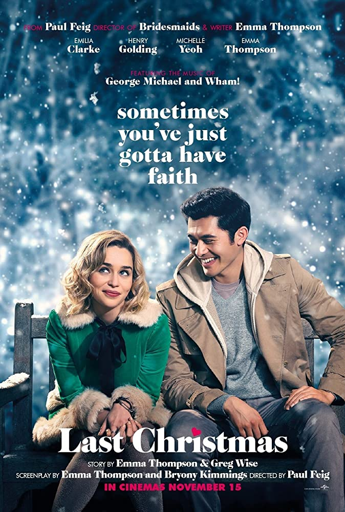 Coming Soon: Last Christmas (12/13))