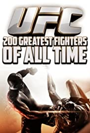UFC 200 Greatest Fighters of All Time Poster