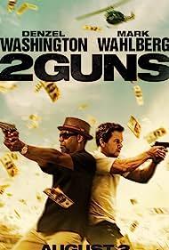 Mark Wahlberg and Denzel Washington in 2 Guns (2013)