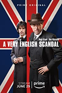 Hugh Grant and Ben Whishaw in A Very English Scandal (2018)