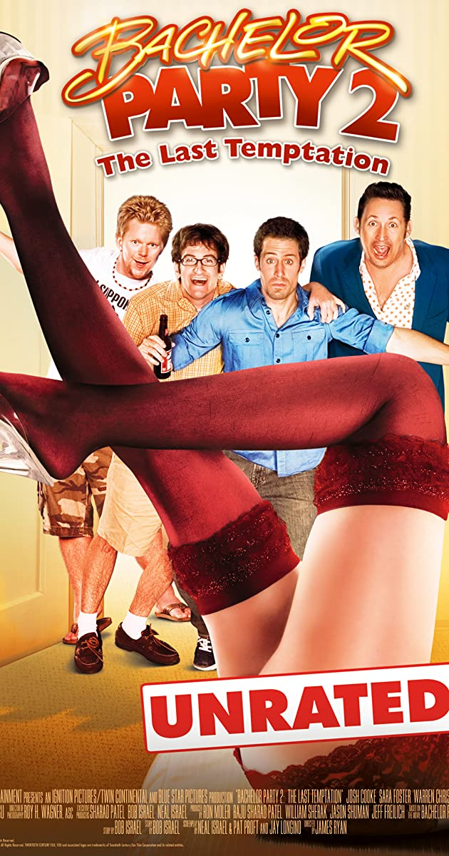 Bachelor Party 2 The Last Temptation (2008) Unofficial Hindi Dubbed HDRip 720p Esubs DL