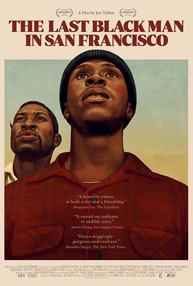 Jonathan Majors and Jimmie Fails in The Last Black Man in San Francisco (2019)