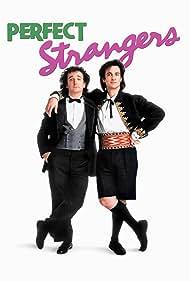 Bronson Pinchot and Mark Linn-Baker in Perfect Strangers (1986)