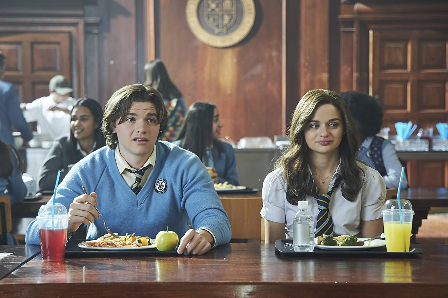 Joey King and Joel Courtney in The Kissing Booth 2 (2020)