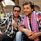 Dharmendra and Bobby Deol in Yamla Pagla Deewana (2011)