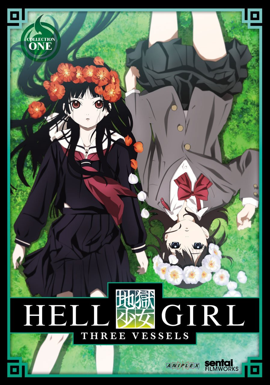 دانلود زیرنویس فارسی سریال Hell Girl: Three Vessels