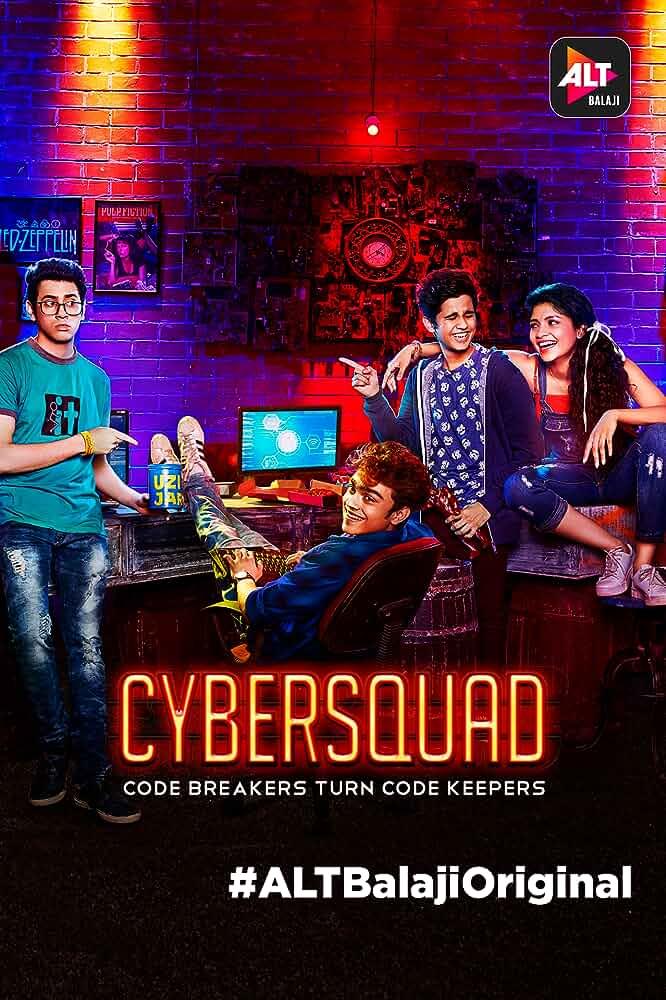 CyberSquad Season 1 Alt Balaji Hindi Web Series Complete All Episodes EP [ 01-10 ] 720p Download watch Online